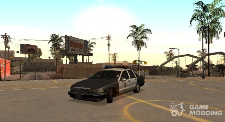 R. P. D. 1991 Chevrolet Caprice for GTA San Andreas