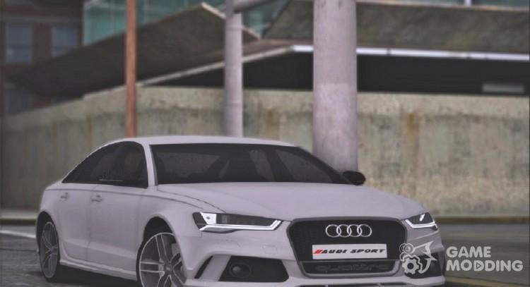 Audi Rs6 Sedan C7 2016 For Gta San Andreas