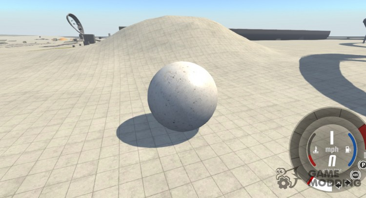 Stone ball for BeamNG.Drive