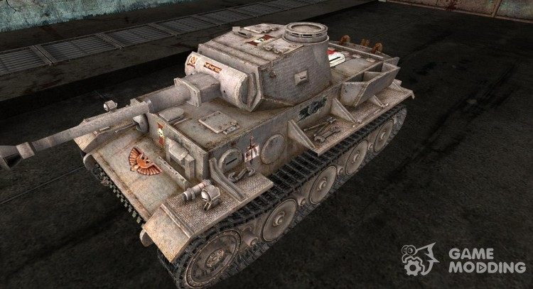 Skin for VK3601 (H) Grey Knight (Varhammeru) for World Of Tanks