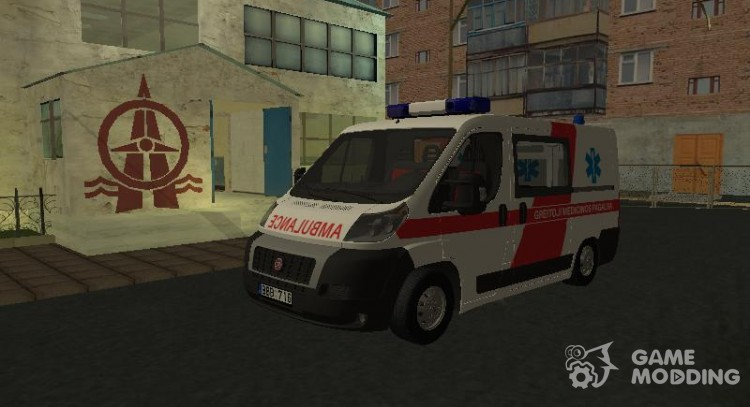 Fiat Ducato Lithuanian. for GTA San Andreas