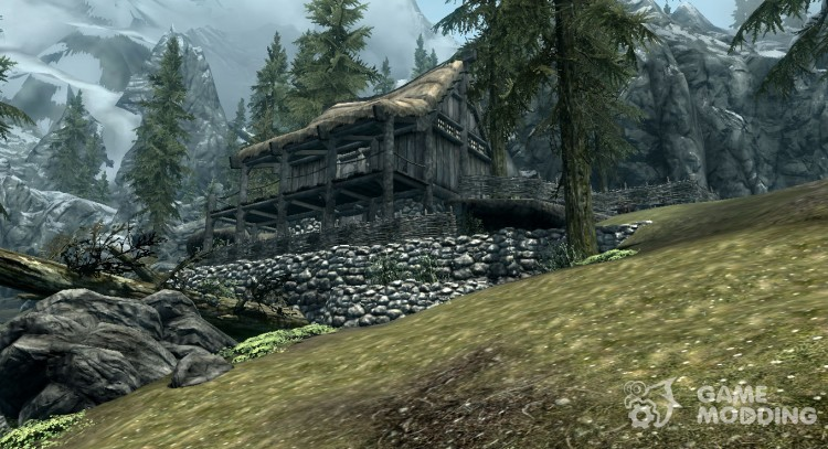 Rivervudskij House for TES V: Skyrim