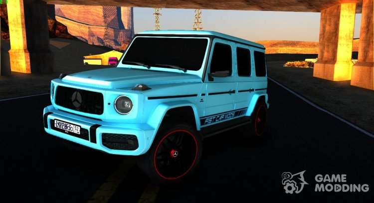 Mercedes-Benz G63 AMG Edition for GTA San Andreas