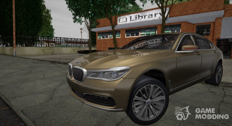 G12 2016 BMW 760i for GTA San Andreas