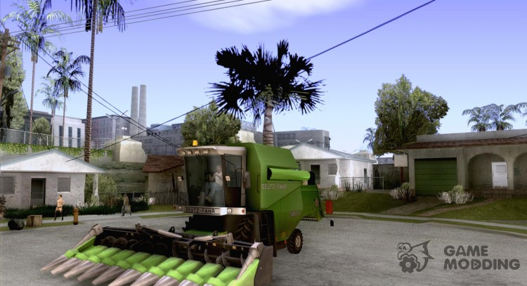 Deutz Harvester for GTA San Andreas