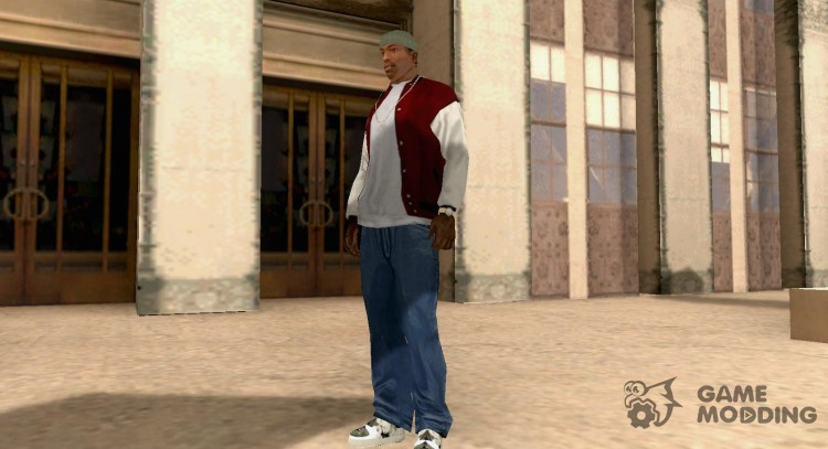 2PAC pic shoes for GTA San Andreas