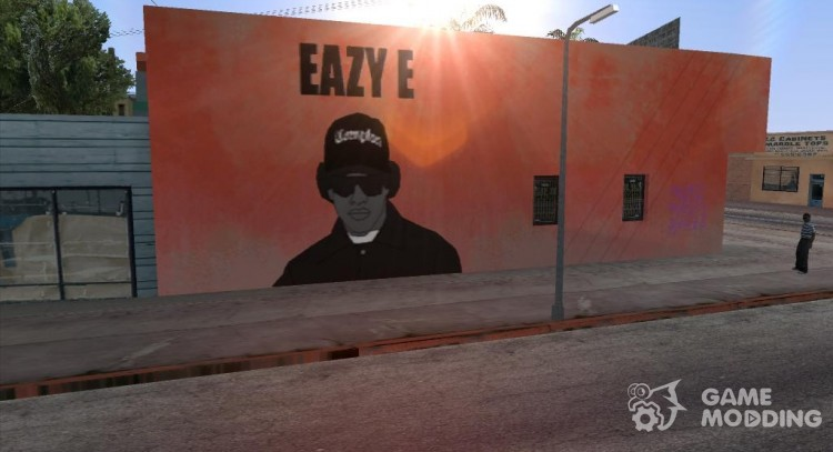 Graffiti of Eazy-E for GTA San Andreas