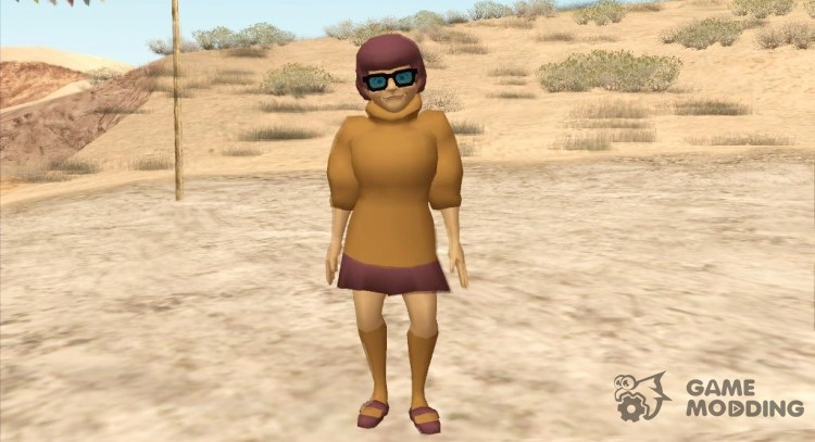 Velma (Scooby Doo) for GTA San Andreas