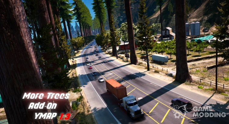 More Trees in Los Santos 1.3 for GTA 5