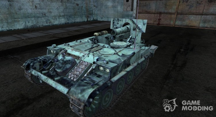 Skin for AMX 13 F3 AM for World Of Tanks