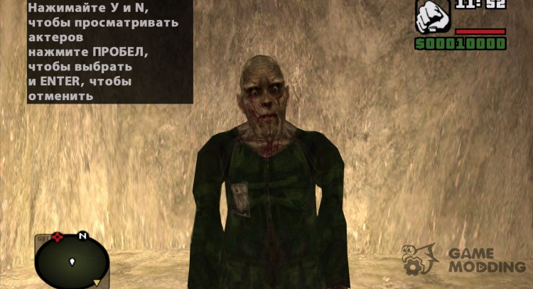 Zombie civilian from s. t. a. l. k. e. R v. 4 for GTA San Andreas