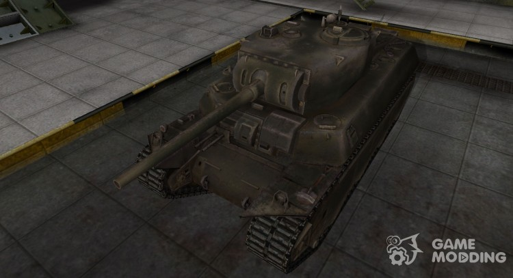 Emery cloth for American tank M6 for World Of Tanks
