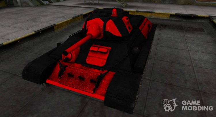 Black and red zone, breaking through the T-34 for World Of Tanks