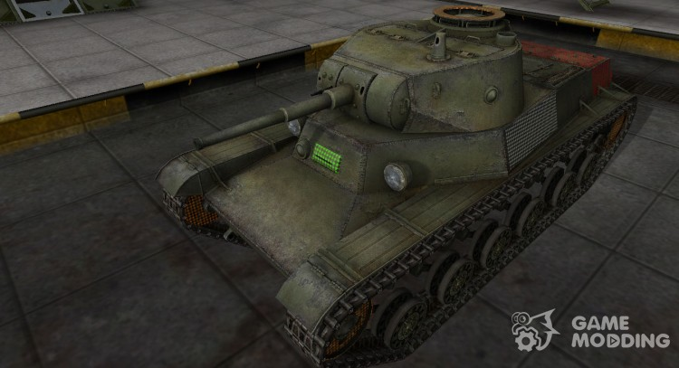 Area penetration t-50-2 for World Of Tanks
