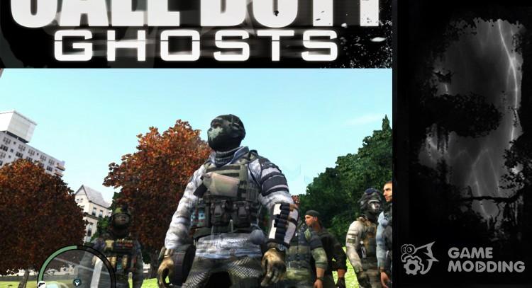 Cod Ghost Elias Skin For Gta 4