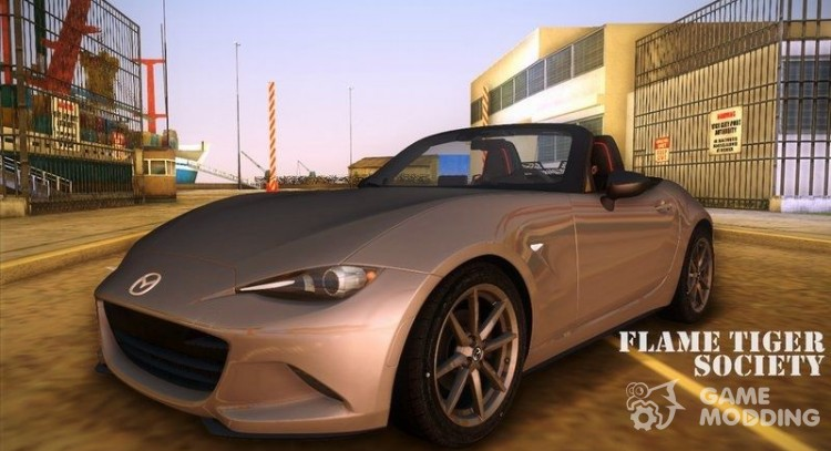 Mazda MX5 Roadster 2015 for GTA Vice City