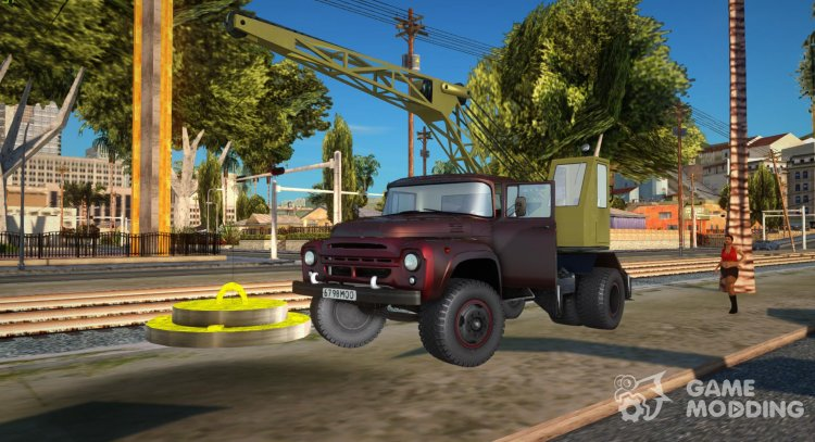 ZIL 130 K25 for GTA San Andreas