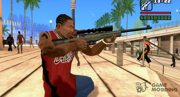 AWP of counter-strike for GTA San Andreas