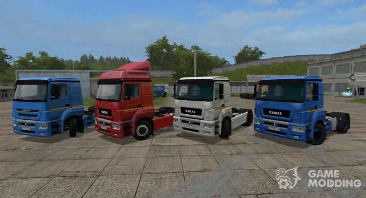 KamAZ 5490 for Farming Simulator 2017