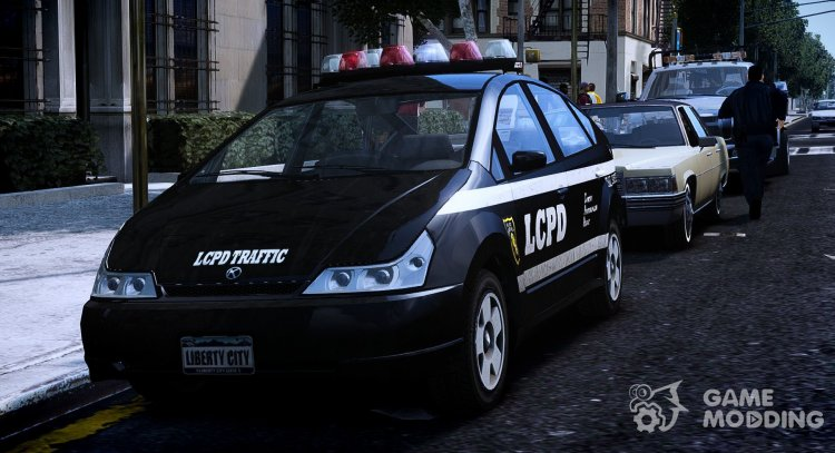Dilettante Police (LCPD) 1.0 for GTA 4