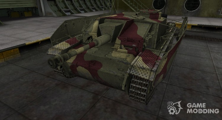 Historical camouflage StuG III for World Of Tanks
