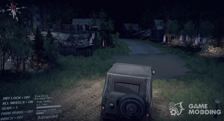 Map Of The Forest for Spintires 2014
