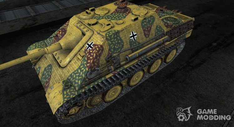 JagdPanther 21 для World Of Tanks