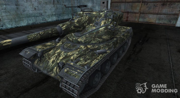 Skin for AMX 50 68t for World Of Tanks