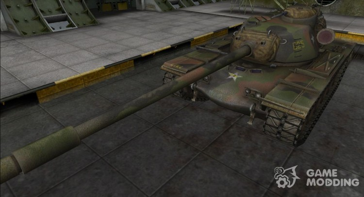 Remodeling for tank T110E5 for World Of Tanks
