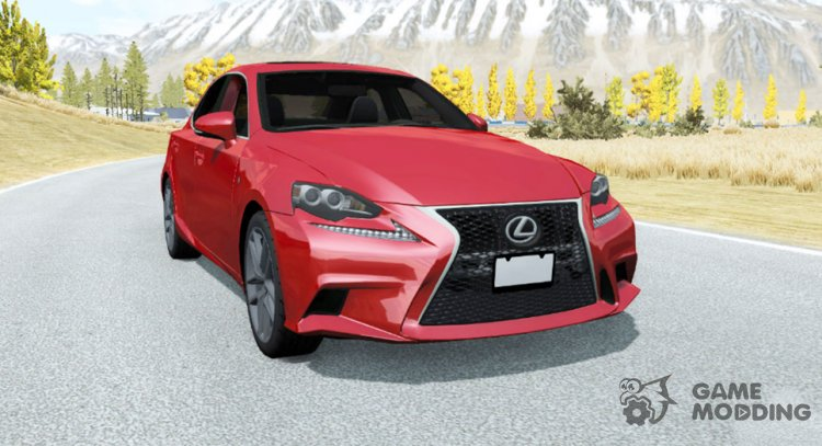 Lexus IS 350 F Sport (XE30) 2013 for BeamNG.Drive