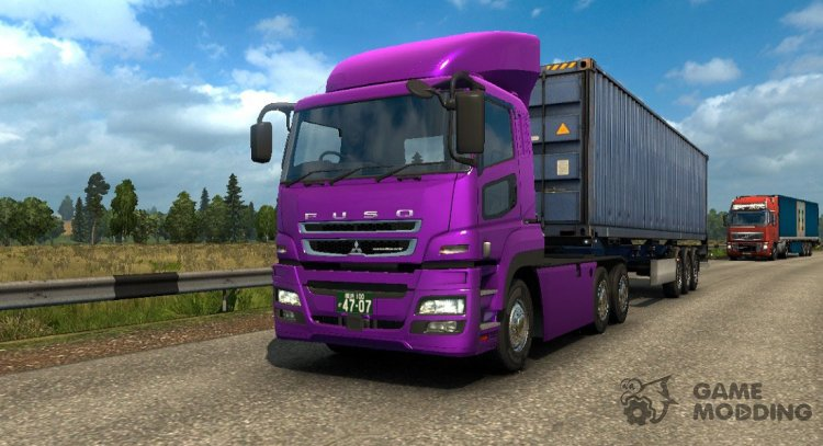 Mitsubishi Fuso Super Great for Euro Truck Simulator 2