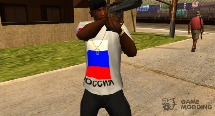 Russia T-shirt for GTA San Andreas