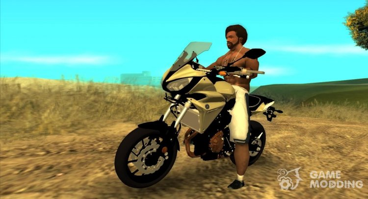 Yamaha Tracer 700 for GTA San Andreas