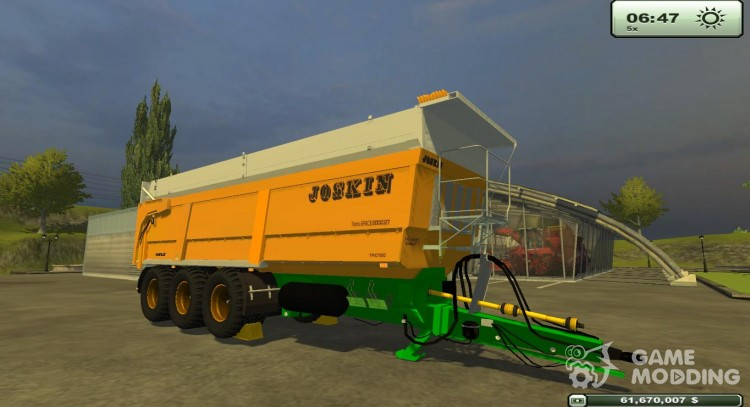 Joskin Trans Space 8000/27 for Farming Simulator 2013