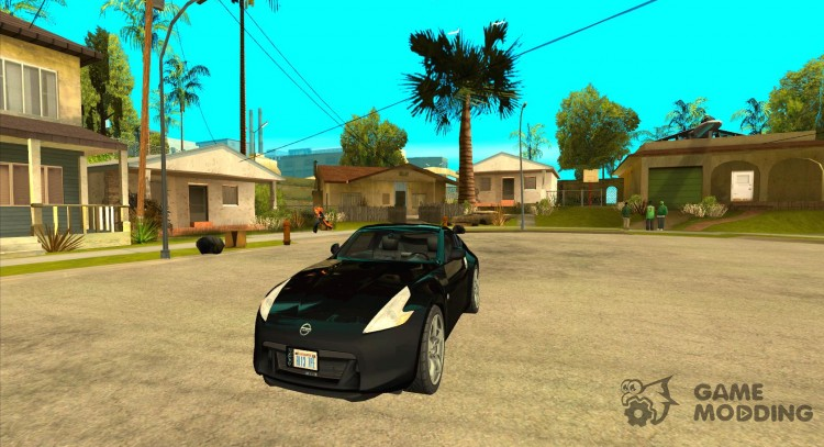 Graphics from the console versions for GTA San Andreas