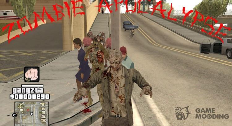 download gta san andreas - zombie cleo mod
