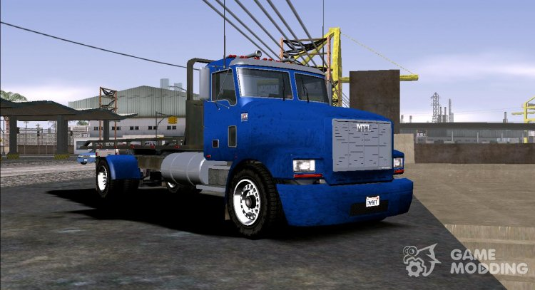 GTA V MTL Flatbed (IVF) for GTA San Andreas