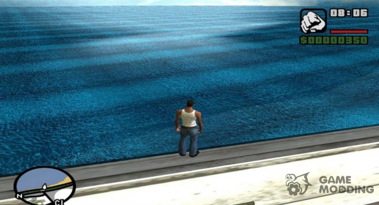 4K Realistic Water for GTA San Andreas
