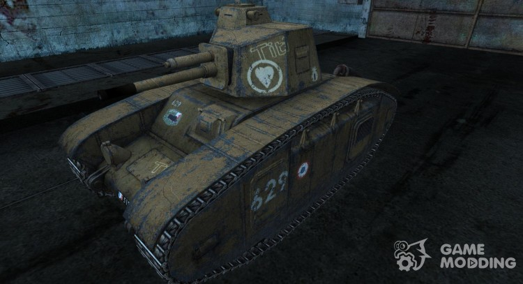 Skin for BDR G1B for World Of Tanks