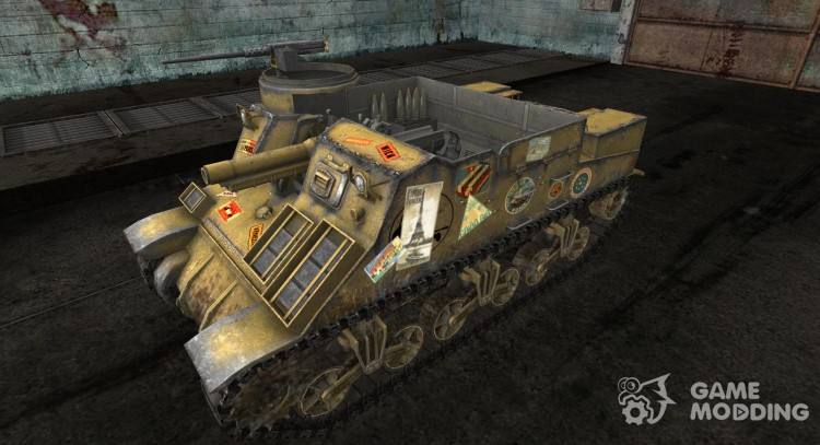 M7 Priest from No0481 for World Of Tanks