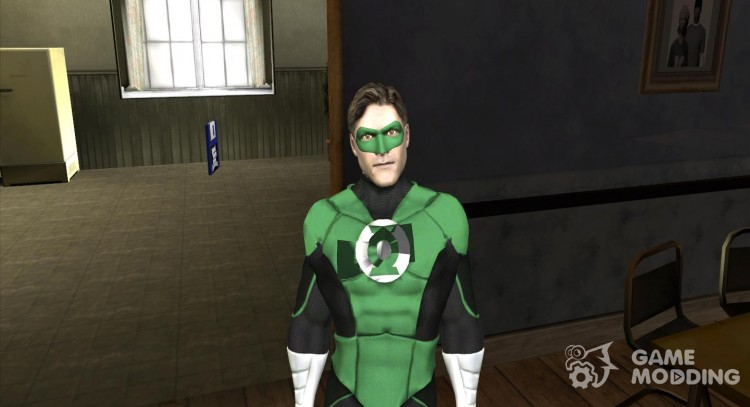 Green Lantern for GTA San Andreas