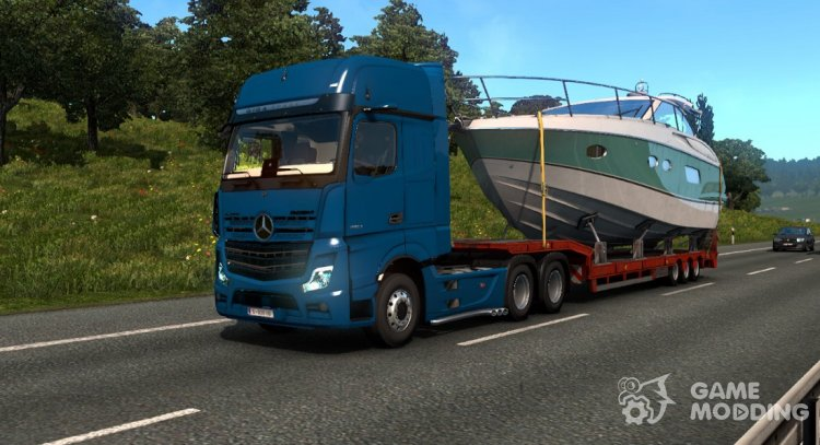 Mercedes-Benz Actros MP5 for Euro Truck Simulator 2