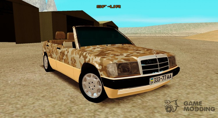 Mercedes-Benz 190E Army для GTA San Andreas