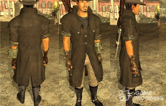 Raincoat & Hat for Fallout New Vegas