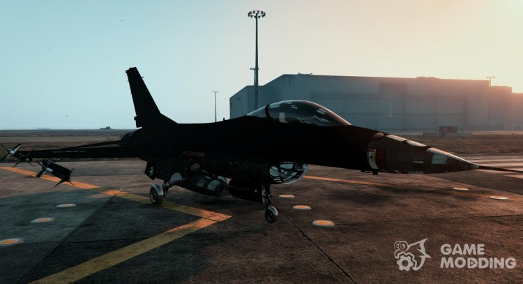 F-16A Block 15 Configuration (Lazer Replace) for GTA 5