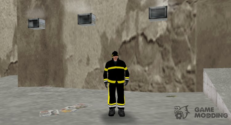 New fireman for GTA 3