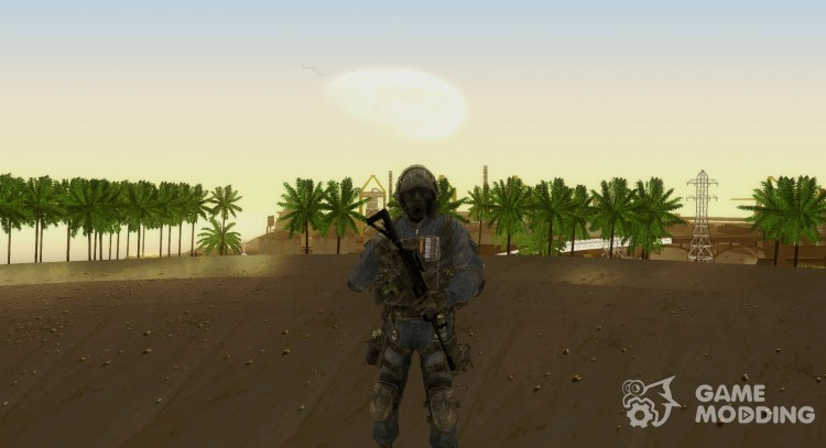 Cod MW3 SAS for GTA San Andreas
