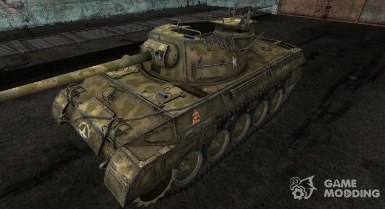 Skin for M18 Hellcat for World Of Tanks