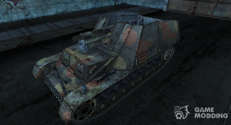 Skin for Hummel for World Of Tanks
