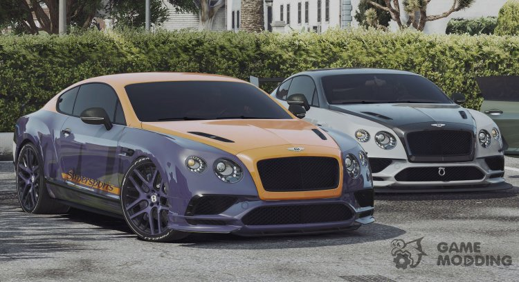 2018 Bentley Continental Supersports for GTA 5